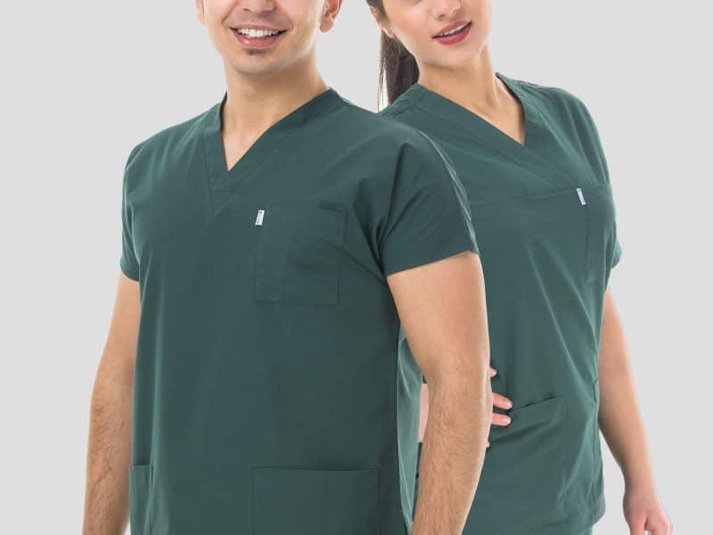 Terletmeyen Konforlu Likralı Doktor ve Hemşire Forması