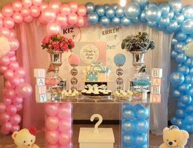 Cinsiyete Göre Doğum Günü Parti Süsleri